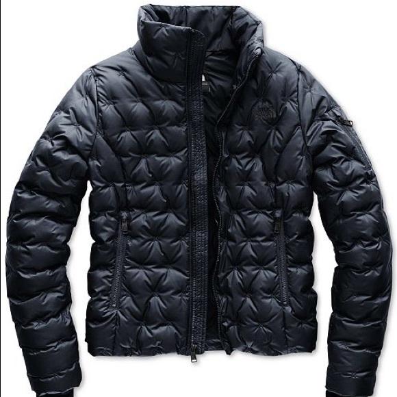 11762b286052b North Face Holladown Cross-Stitch Puffer Jacket